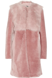 DKNY Shearling coat
