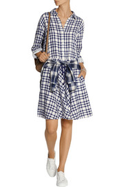 DKNY DKNYpure double-faced cotton shirt dress