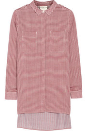 DKNY DKNYpure gingham cotton shirt