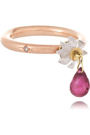 Alice Cicolini 9-karat rose gold multi-stone ring