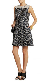 Tory Burch Rayna floral-print wool and silk-blend mini dress
