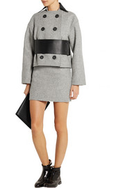 Atto Wool mini skirt