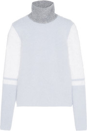 Atto Color-block knitted sweater