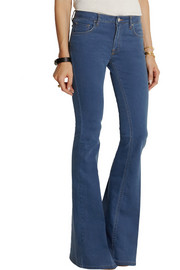 Victoria Beckham Denim Flare mid-rise flared jeans