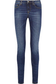 Victoria Beckham Denim Superskinny low-rise skinny jeans