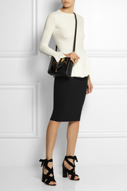 McQ Alexander McQueen Stretch-jersey pencil skirt