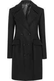 McQ Alexander McQueen Double-breasted wool-blend felt coat