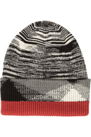 Missoni Ribbed wool-blend beanie