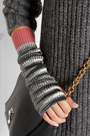 Missoni Ribbed wool-blend arm warmers