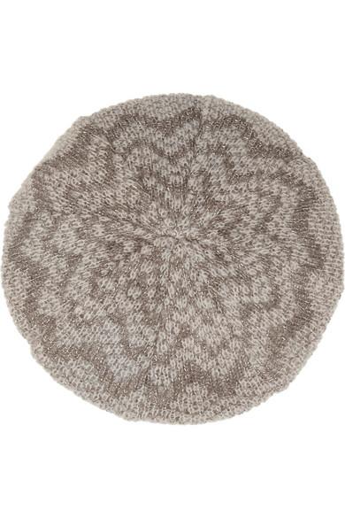 635d3b87733 Missoni. Metallic crochet-knit mohair-blend beret