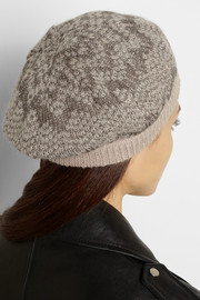 Missoni Metallic crochet-knit mohair-blend beret