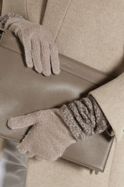 Missoni Metallic mohair-blend gloves