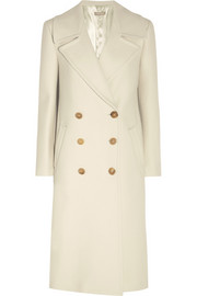 Michael Kors Double-breasted wool-felt coat