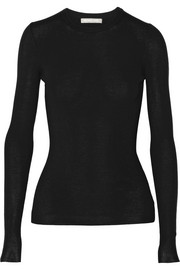 Michael Kors Ribbed fine-knit merino wool sweater