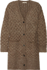 Michael Kors Honeycomb-knit cardigan