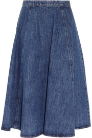 Michael Kors Flared denim skirt