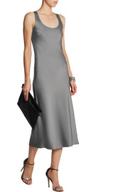 Michael Kors Satin midi dress