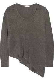 Helmut Lang Asymmetric knitted sweater