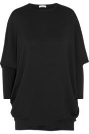 Helmut Lang Oversized stretch-jersey sweatshirt