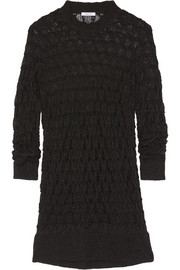Helmut Lang Honeycomb-knit sweater