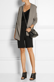 Helmut Lang Villous stretch-jersey hooded cardigan