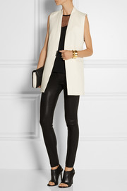 Helmut Lang Textured cotton-blend vest
