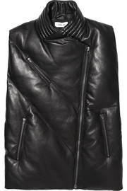 Helmut Lang Quilted leather vest