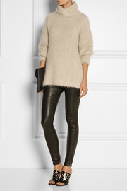 Helmut Lang Angora-blend turtleneck sweater
