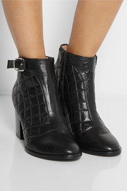 Thakoon Addition Magdelena quilted leather ankle boots