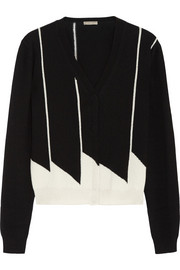 Bottega Veneta Two-tone cashmere cardigan