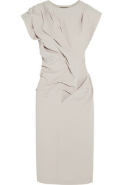 Bottega Veneta Folded crepe dress