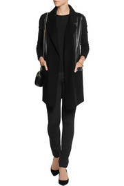 Donna Karan Stretch-jersey straight-leg pants
