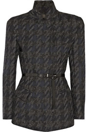 Donna Karan Belted wool-blend jacket