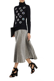 Matthew Williamson Paillette-embellished mohair-blend sweater