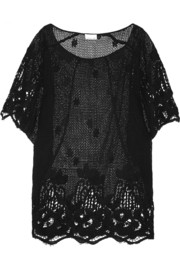 Jessica crocheted cotton kaftan