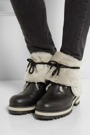 Jimmy Choo Dalton shearling-lined leather boots