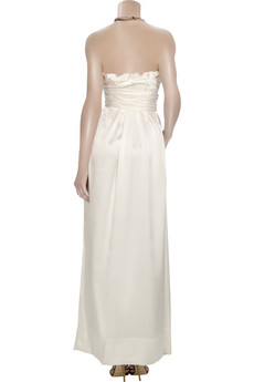 Vivienne Westwood Gold LabelCorseted silk satin gown