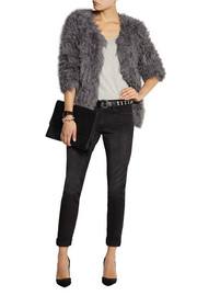 Ravn Knitted shearling jacket