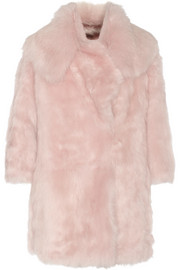 Miu Miu Reversible shearling coat