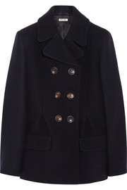 Miu Miu Double-breasted wool coat