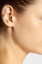 Arme De L'Amour Gold-plated ear cuff