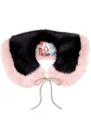 Pluto faux fur collar