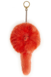 Shrimps Lenny faux fur keychain