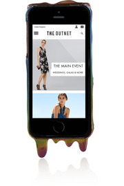 Marc by Marc Jacobs Marc Melts iridescent iPhone 5 cover
