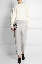 Jil Sander Cropped wool-blend felt tapered pants