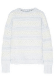 Jil Sander Striped knitted sweater