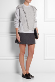 Jil Sander Fringed stretch-cashmere sweater