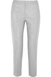 Jil Sander Wool-blend felt tapered pants
