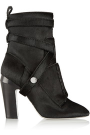 Fendi Calf hair ankle boots