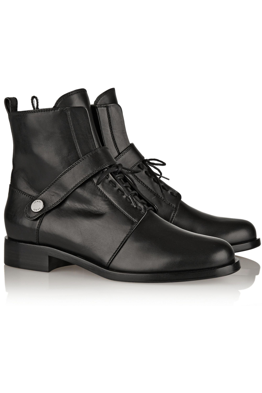 Fendi Ankle Boots aus Leder